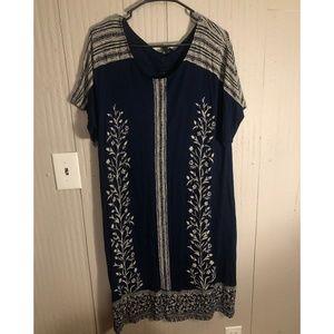 Lucky Brand t-shirt dress with design